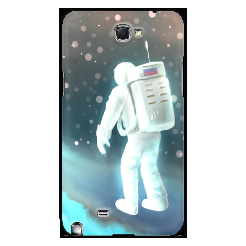 Чехол для Samsung Galaxy Note 2 Printio Космический путешественник гордиенко с мишка путешественник 2