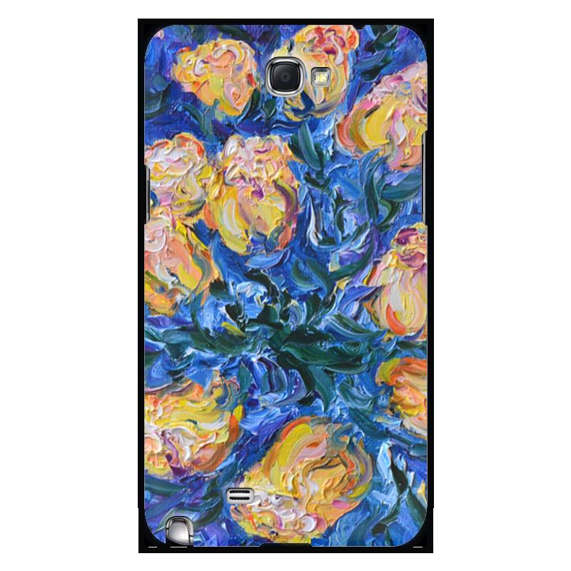 Чехол для Samsung Galaxy Note 2 Printio Весна серия виртуальная школа кирилла и мефодия