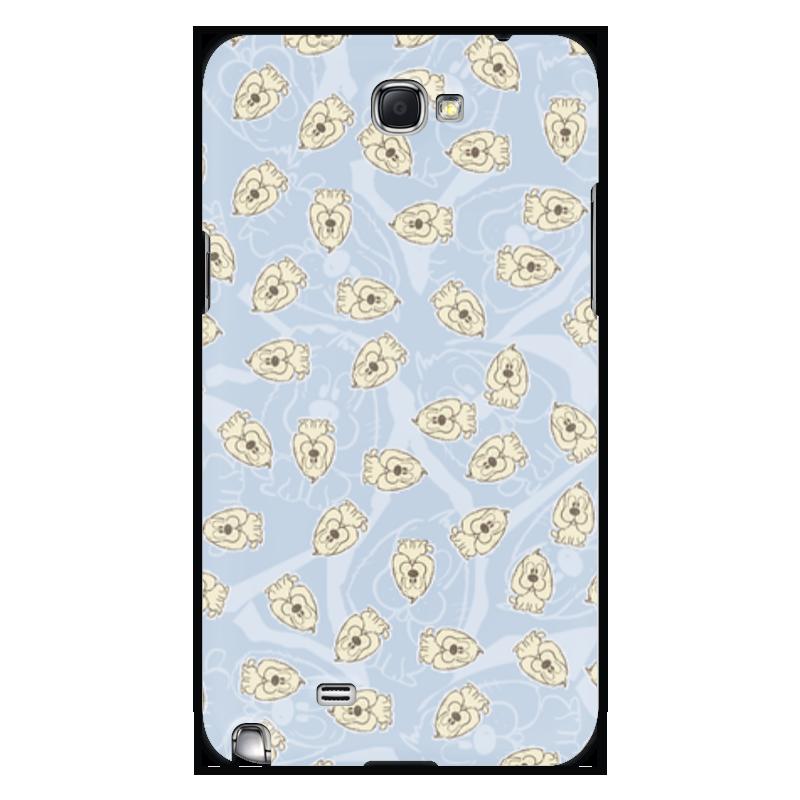 Чехол для Samsung Galaxy Note 2 Printio Собачки юбка в складку printio собачки