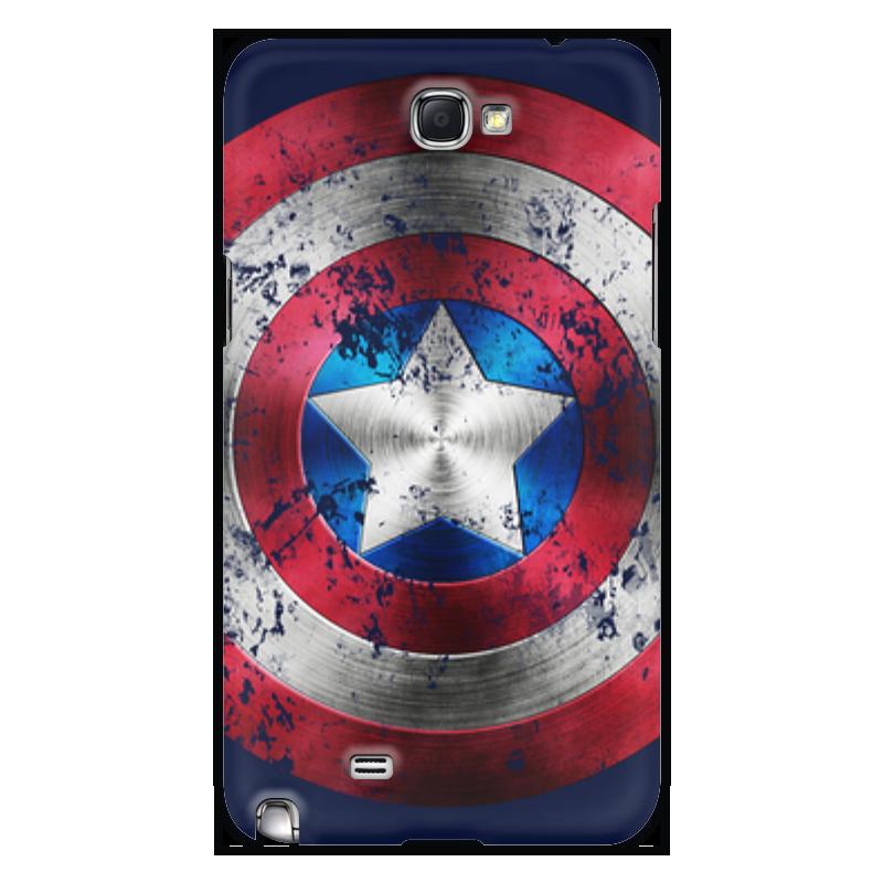 Чехол для Samsung Galaxy Note 2 Printio Captain america чехол для samsung galaxy note 2 printio хочешь мира готовься к войне