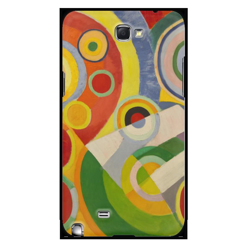 Чехол для Samsung Galaxy Note 2 Printio Абстракционизм (картина делоне) николай делоне квантовая природа вещества