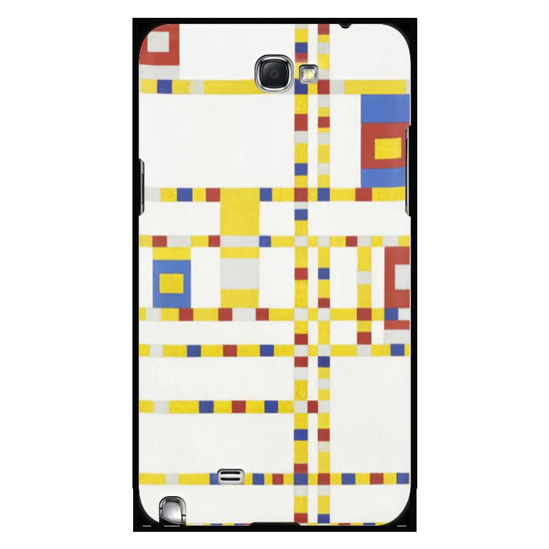 Чехол для Samsung Galaxy Note 2 Printio Бродвей буги-вуги (питер мондриан)