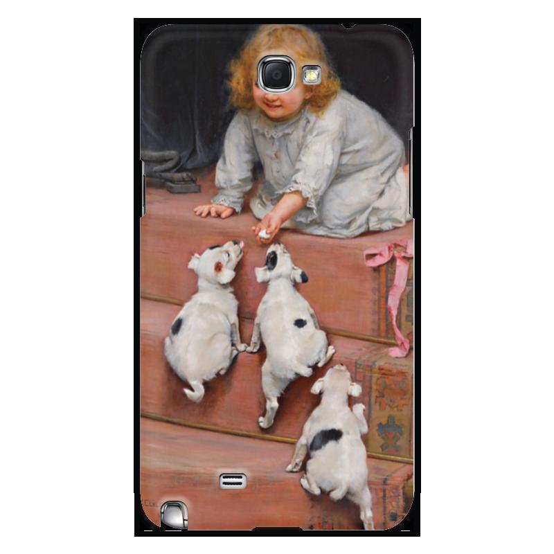 Чехол для Samsung Galaxy Note 2 Printio Картина артура элсли (1860-1952) шоколадка 35х35 printio картина артура элсли 1860 1952