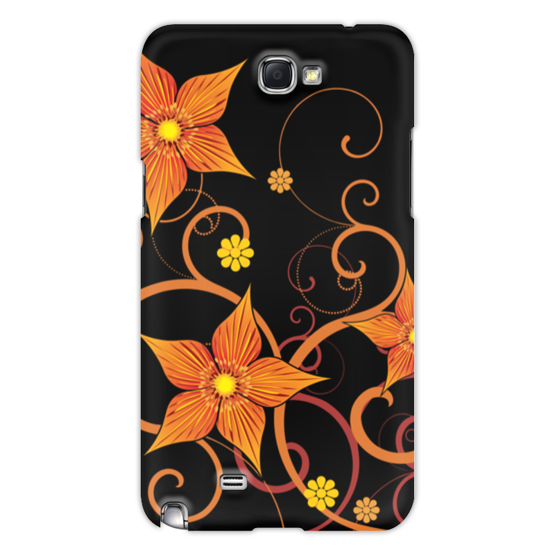 Чехол для Samsung Galaxy Note 2 Printio Цветочный чехол для для мобильных телефонов rcd 4 samsung 4 for samsung galaxy note 4 iv