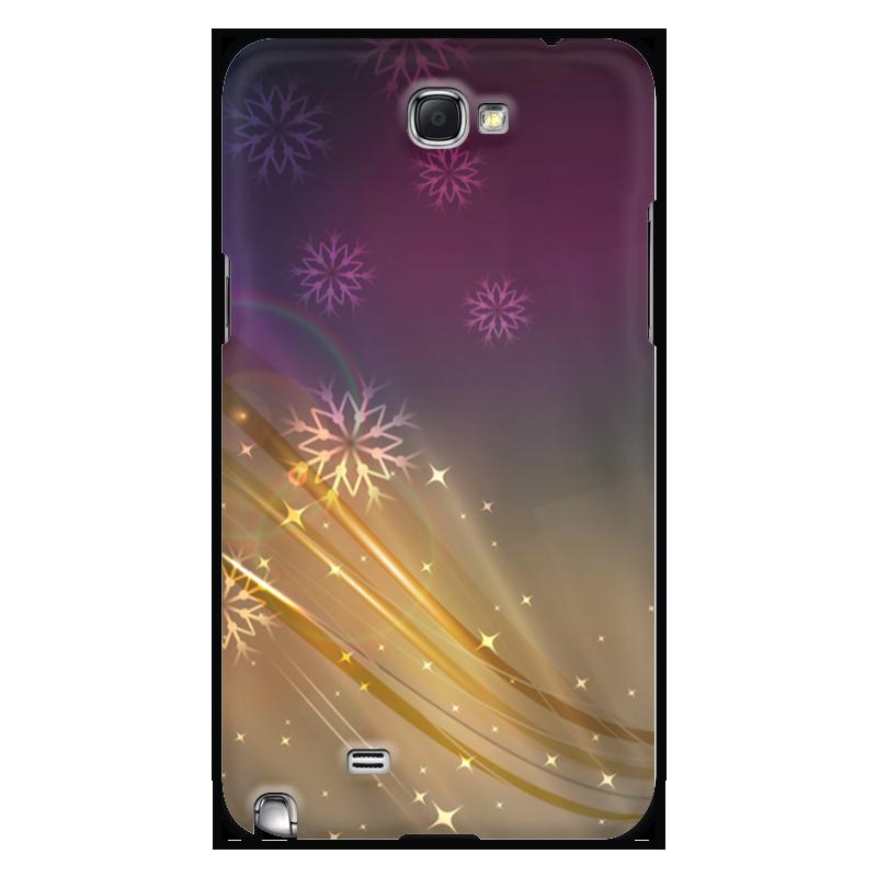 Чехол для Samsung Galaxy Note 2 Printio Снежная фантазия чехол для samsung galaxy note 2 printio барселона на samsung galaxy note 2