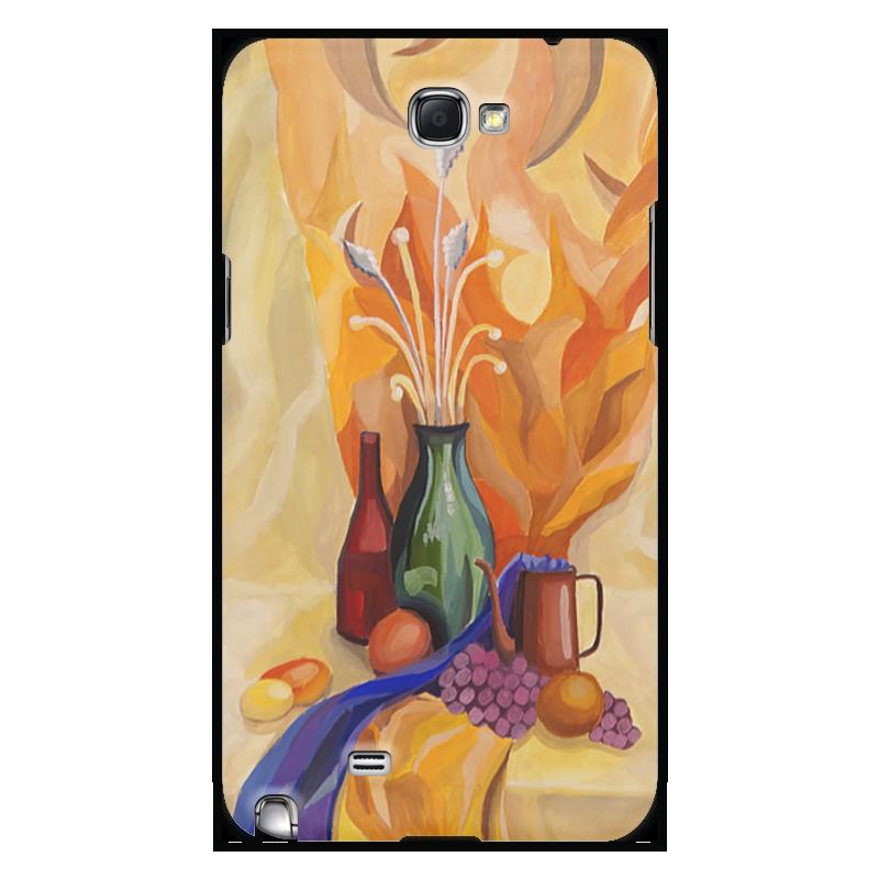 Чехол для Samsung Galaxy Note 2 Printio Живописный купить чехол для смартфона лджи 880
