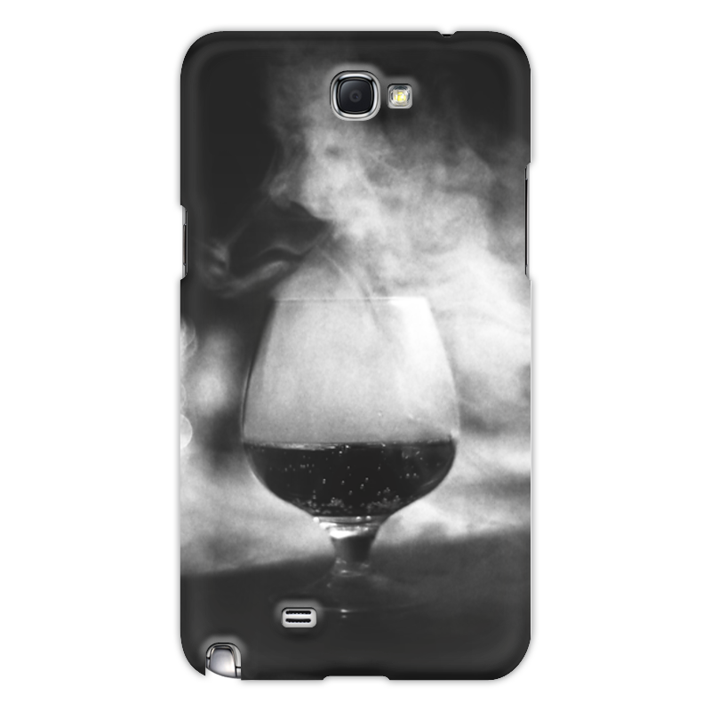 Чехол для Samsung Galaxy Note 2 Printio Бокал дыма чехол для samsung galaxy note 2 printio цветочный