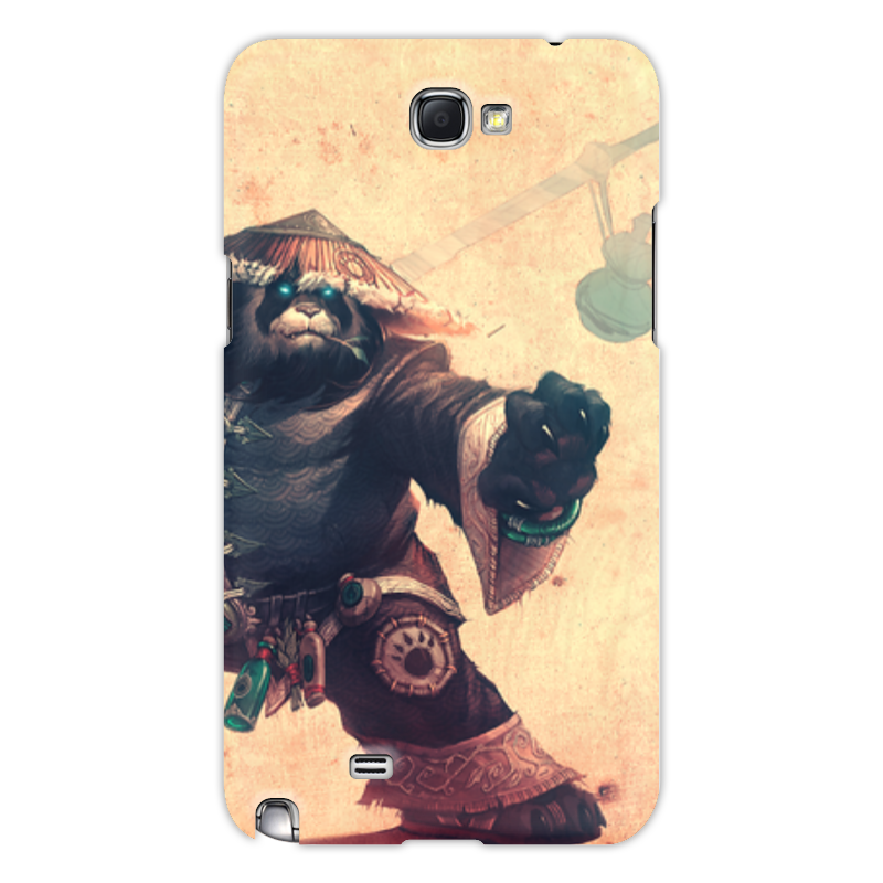 Чехол для Samsung Galaxy Note 2 Printio Warcraft collection: panda футболка united colors of benetton united colors of benetton un012ewabzq7