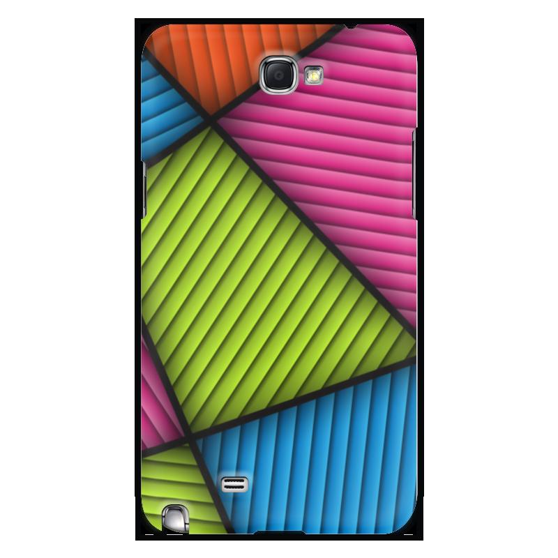 Чехол для Samsung Galaxy Note 2 Printio Цветная абстракция чехол для для мобильных телефонов rcd 4 samsung 4 for samsung galaxy note 4 iv