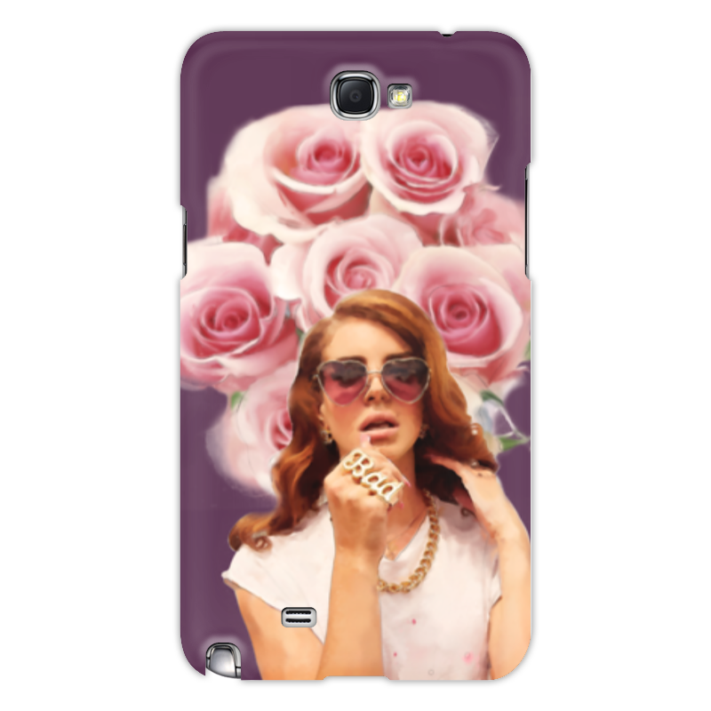 Чехол для Samsung Galaxy Note 2 Printio Lana del rey