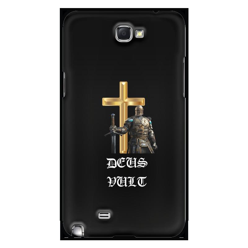 Чехол для Samsung Galaxy Note 2 Printio Deus vult. крестоносцы