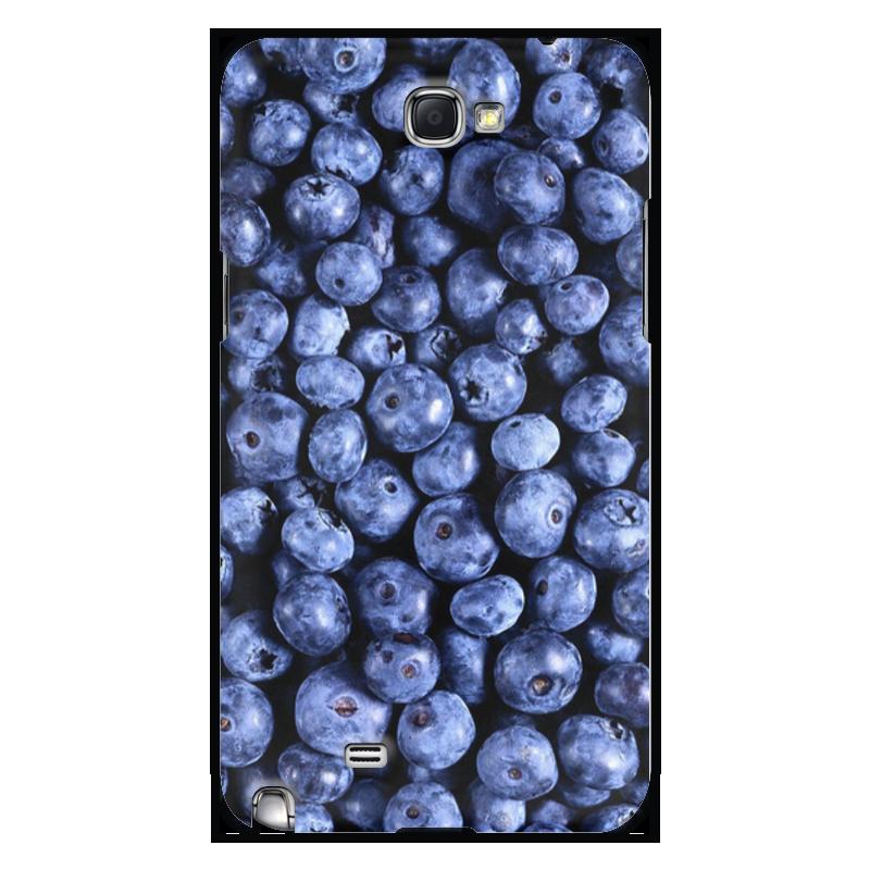 Чехол для Samsung Galaxy Note 2 Printio Черника тема биотворог черника 4 2