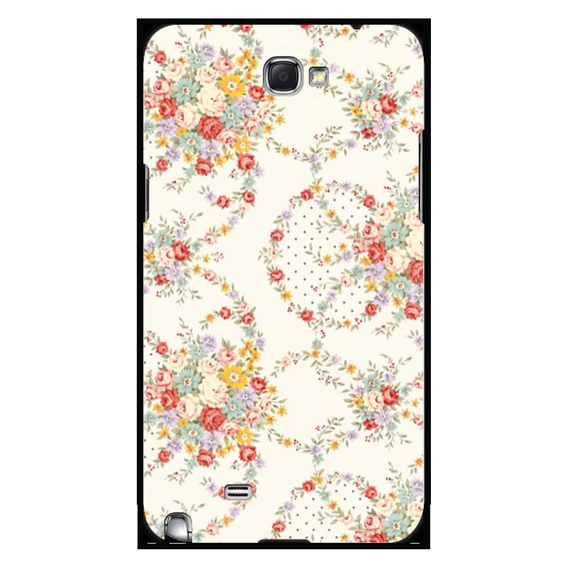 Чехол для Samsung Galaxy Note 2 Printio Цветы