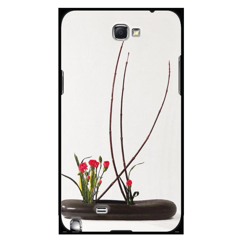 Чехол для Samsung Galaxy Note 2 Printio Икебана / ikebana note udom no 12 bangkok
