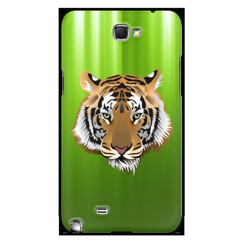 Чехол для Samsung Galaxy Note 2 Printio Взгляд тигра чехол для samsung galaxy s5 printio тигра