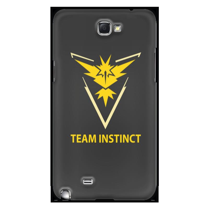 Чехол для Samsung Galaxy Note 2 Printio Team instinct