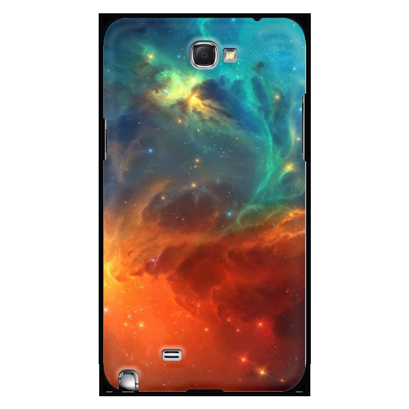 Чехол для Samsung Galaxy Note 2 Printio Космическая туманность чехол для для мобильных телефонов rcd 4 samsung 4 for samsung galaxy note 4 iv