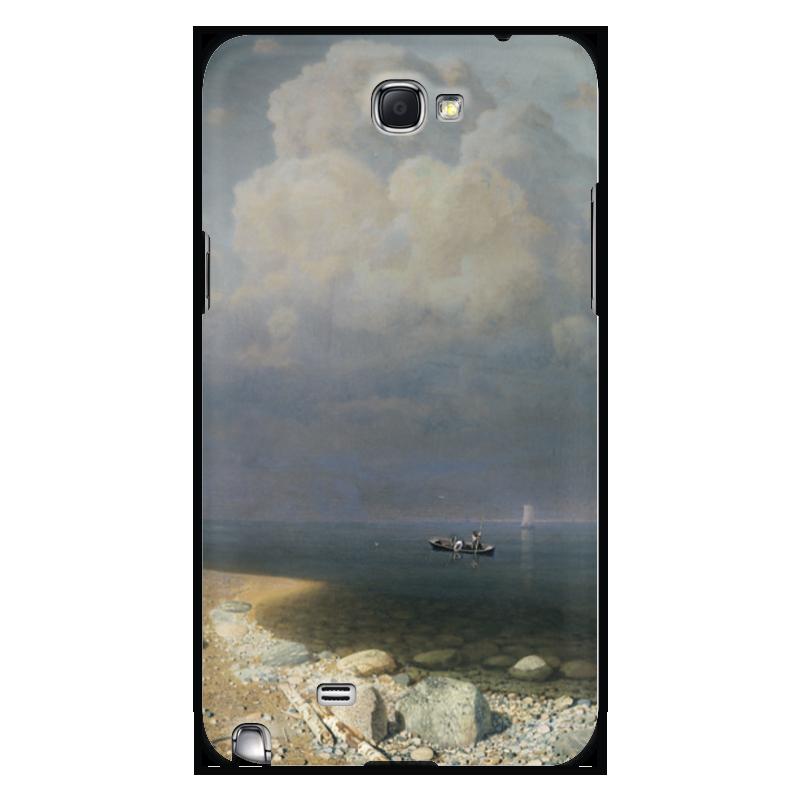Чехол для Samsung Galaxy Note 2 Printio Ладожское озеро (картина архипа куинджи) чехол для blackberry z10 printio север картина архипа куинджи