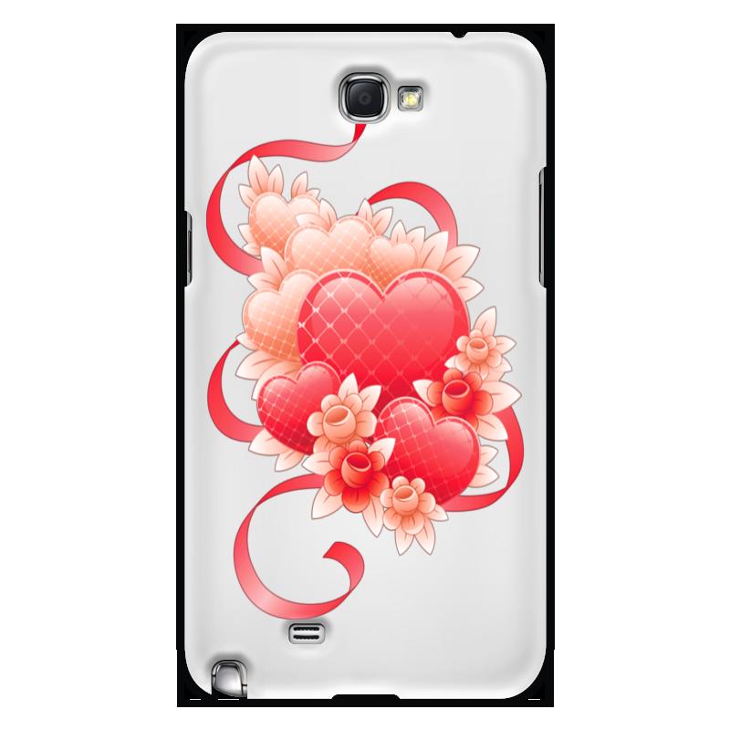 лучшая цена Чехол для Samsung Galaxy Note 2 Printio Любимой на 14 февраля