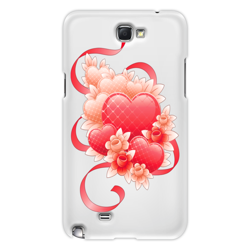 Чехол для Samsung Galaxy Note 2 Printio Любимой на 14 февраля