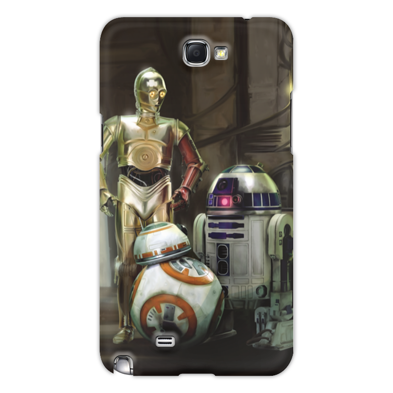 Чехол для Galaxy Note 2 Printio wars