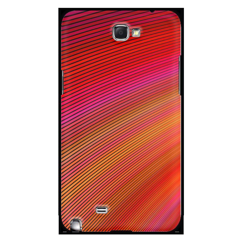 Чехол для Samsung Galaxy Note 2 Printio Радуга