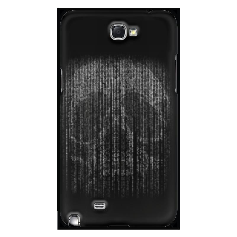 Чехол для Samsung Galaxy Note 2 Printio Голограмма череп чехол для samsung galaxy s5 printio череп художник