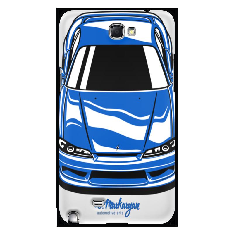 Чехол для Samsung Galaxy Note 2 Printio Silvia s15