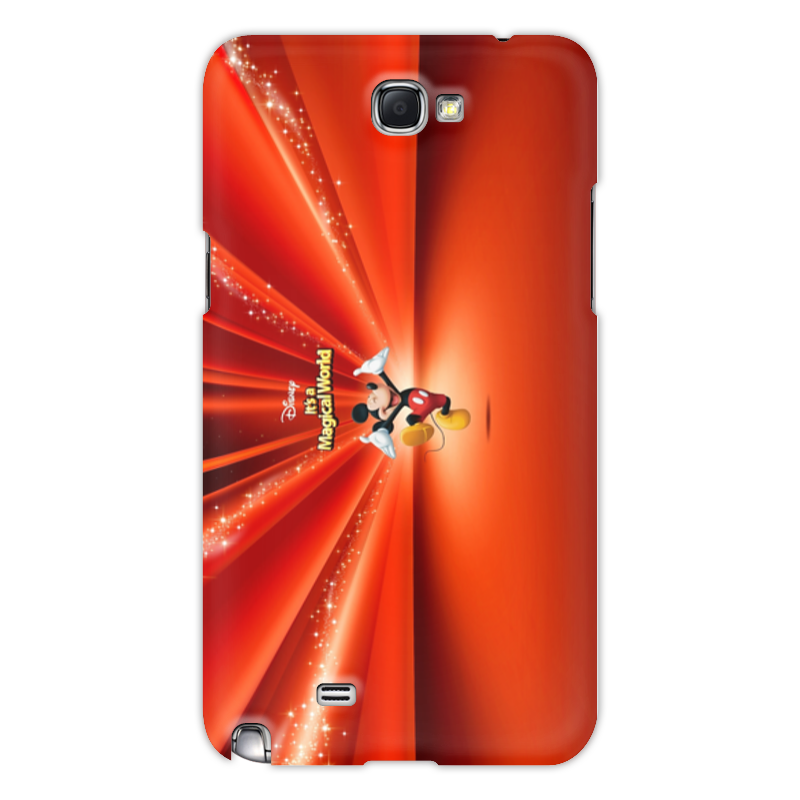 Чехол для Samsung Galaxy Note 2 Printio Микки маус чехол для iphone 6 глянцевый printio микки маус