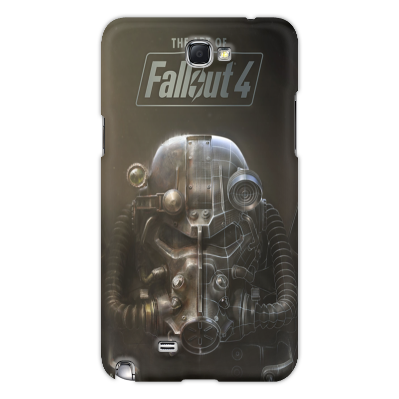 Чехол для Samsung Galaxy Note 2 Printio The art of fallout 4 чехол для для мобильных телефонов rcd samsung note4 iv n910 4 only for samsung galaxy note 4 iv n910