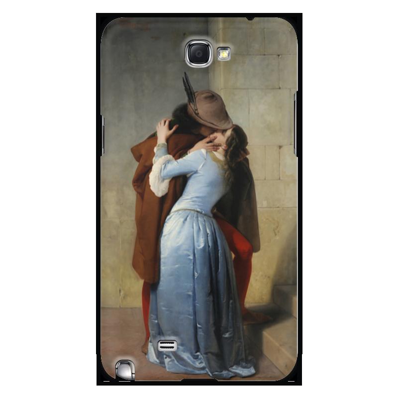 Чехол для Samsung Galaxy Note 2 Printio Поцелуй (франческо айец) тетрадь на скрепке printio поцелуй франческо айец