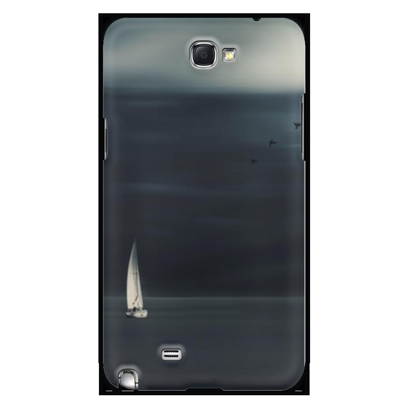 Чехол для Samsung Galaxy Note 2 Printio В море аппартаменты в турции эгейское море
