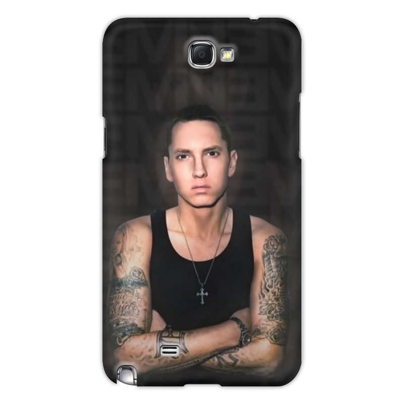 Чехол для Samsung Galaxy Note 2 Printio eminem body eminem eminem eminem presents the re up 2 lp