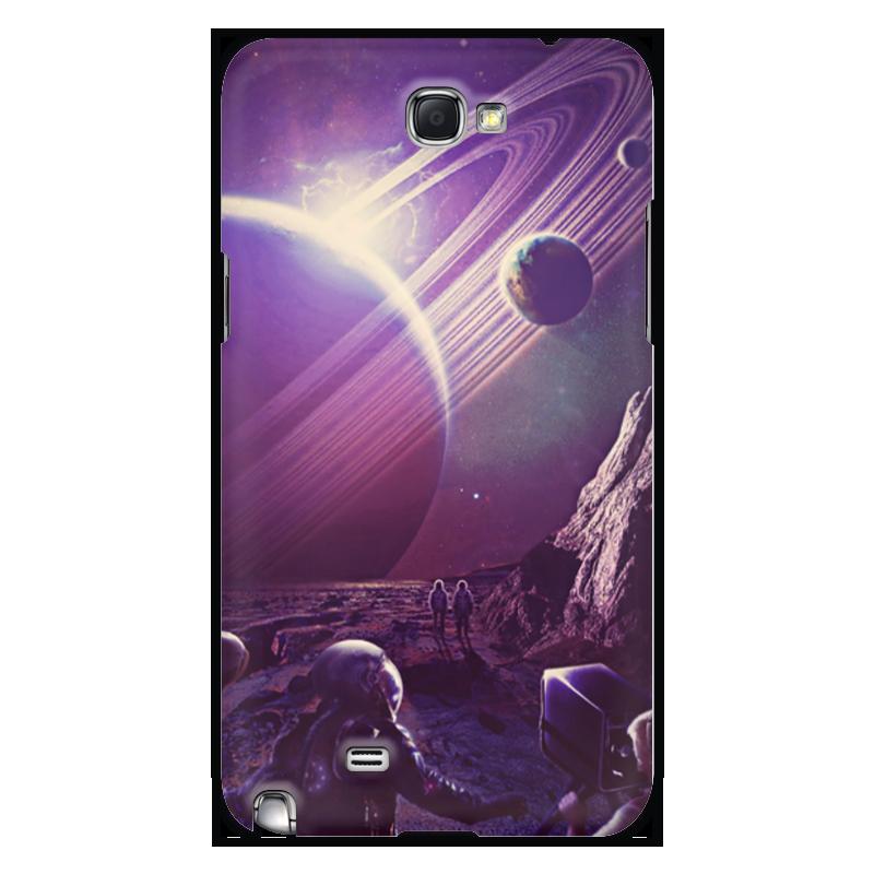Чехол для Samsung Galaxy Note 2 Printio Космос 2100 чехол для для мобильных телефонов rcd 4 samsung 4 for samsung galaxy note 4 iv