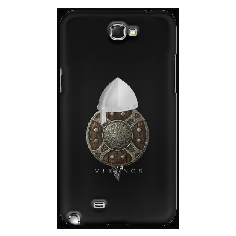 Чехол для Samsung Galaxy Note 2 Printio Викинги. vikings чехол для для мобильных телефонов rcd 4 samsung 4 for samsung galaxy note 4 iv
