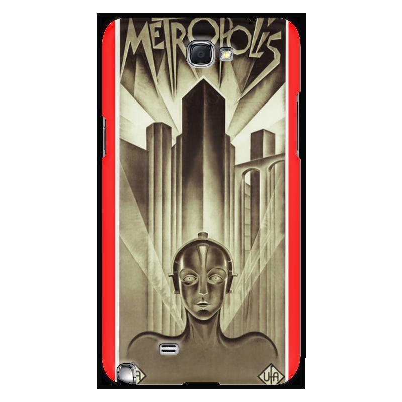 Чехол для Samsung Galaxy Note 2 Printio Афиша к фильму «метрополис», 1927 год для мам афиша