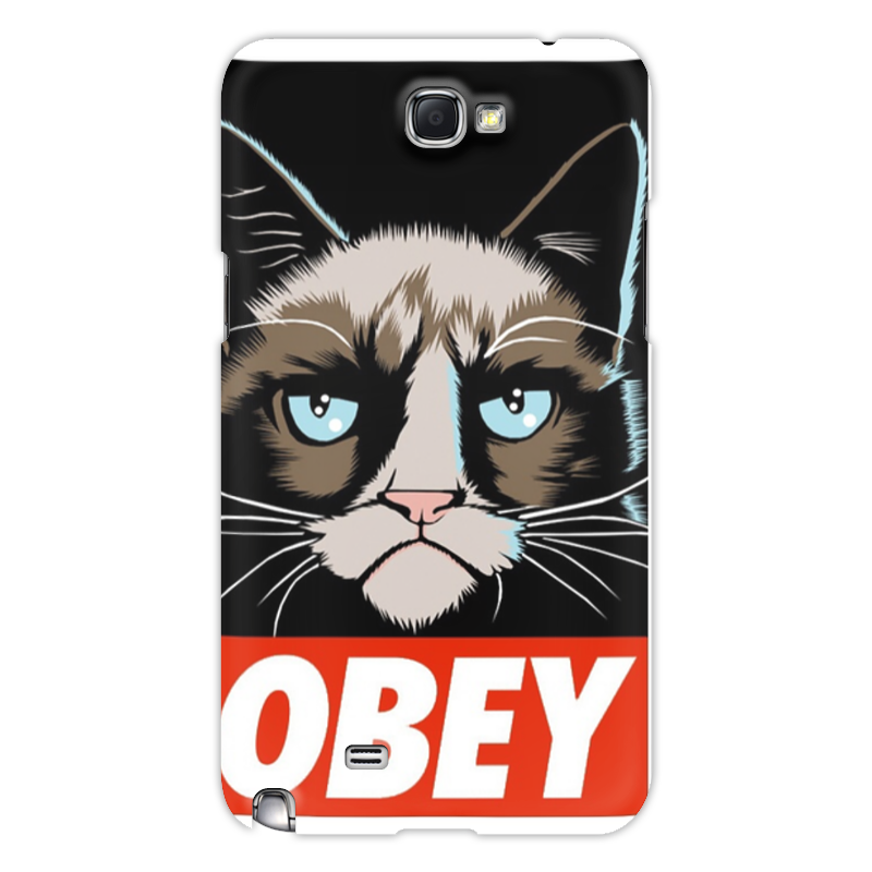 Чехол для Samsung Galaxy Note 2 Printio Obey(1) чехол acropolis чбс 1 для блока сигнализаторов