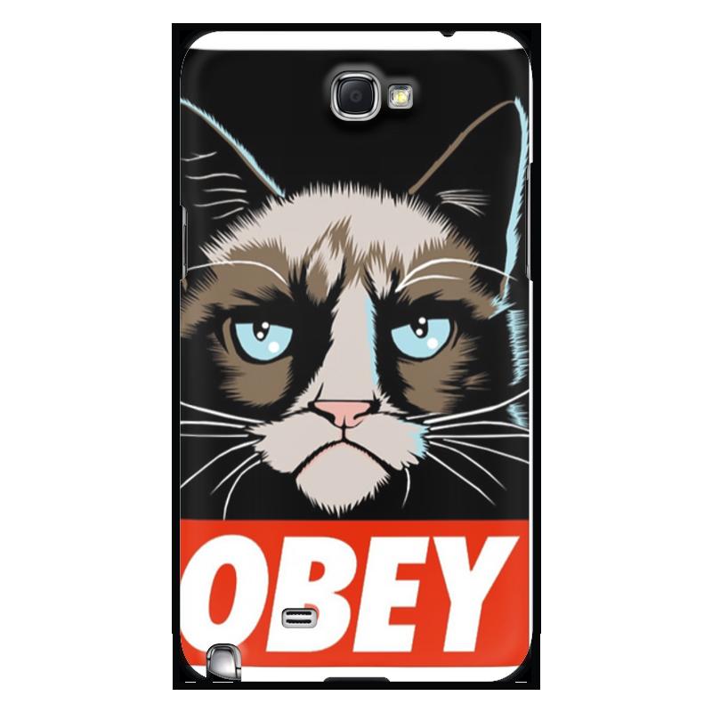 Чехол для Samsung Galaxy Note 2 Printio Obey(1) chauvet dj obey 4 dfi 2 4ghz
