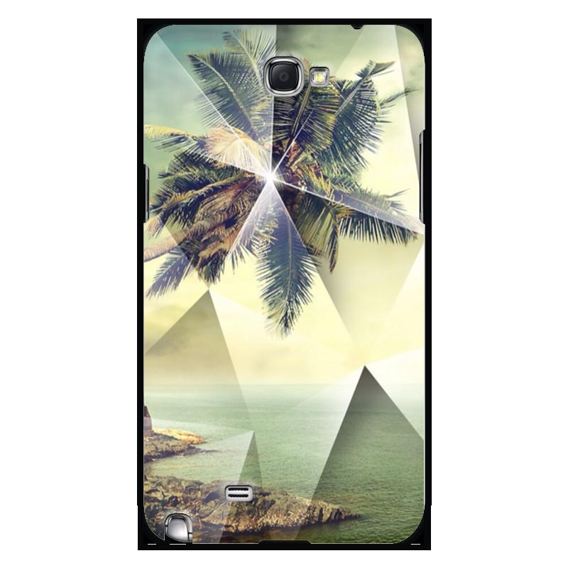 Чехол для Samsung Galaxy Note 2 Printio Лето (пальмы) часы guess 2014