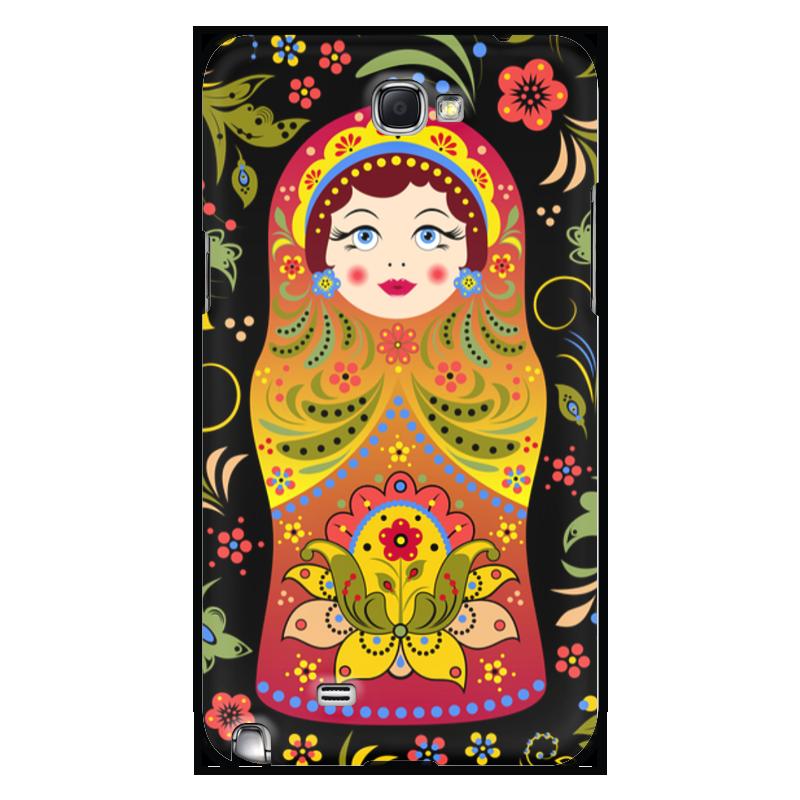 лучшая цена Чехол для Samsung Galaxy Note 2 Printio Матрёшка