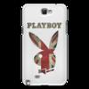 """Чехол для Samsung Galaxy Note 2 """"Playboy Британский флаг"""" - playboy, плейбой, зайчик, великобритания, плэйбой"""