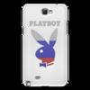 "Чехол для Samsung Galaxy Note 2 ""Playboy Россия"" - playboy, россия, плейбой, зайчик, плэйбой"