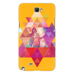 "Чехол для Samsung Galaxy Note 2 """"HIPSTA SWAG"" collection: Salvador Dali"" - сальвадор дали, swag, свэг, salvador dali, геомерия"
