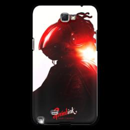 """Чехол для Samsung Galaxy Note 2 """"Sprintink"""" - надпись, космос, абстракция, sprintink"""