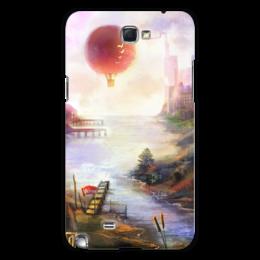 "Чехол для Samsung Galaxy Note 2 ""Город Солнца"" - рисунок, город солнца, sun city, fantasy, фантастика"