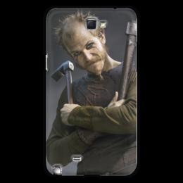 """Чехол для Samsung Galaxy Note 2 """"Флоки Кораблестроитель"""" - история, викинг, викинги, путь воина, флоки"""