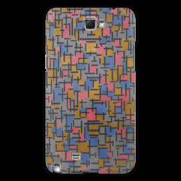 "Чехол для Samsung Galaxy Note 2 ""Композиция (Питер Мондриан)"" - картина, живопись, мондриан"