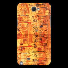 """Чехол для Samsung Galaxy Note 2 """"Шаолинь"""" - единоборства, кунг фу, ушу, китайские, восточные"""