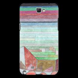 "Чехол для Samsung Galaxy Note 2 ""Вид на плодородную страну"" - картина, клее"