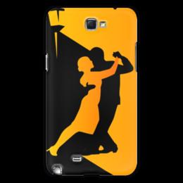 "Чехол для Samsung Galaxy Note 2 ""Танго в ночи"" - музыка, танец, ночь, танго"